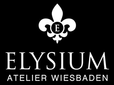 Elysium Logo Wiesbaden White Shadow Schatten